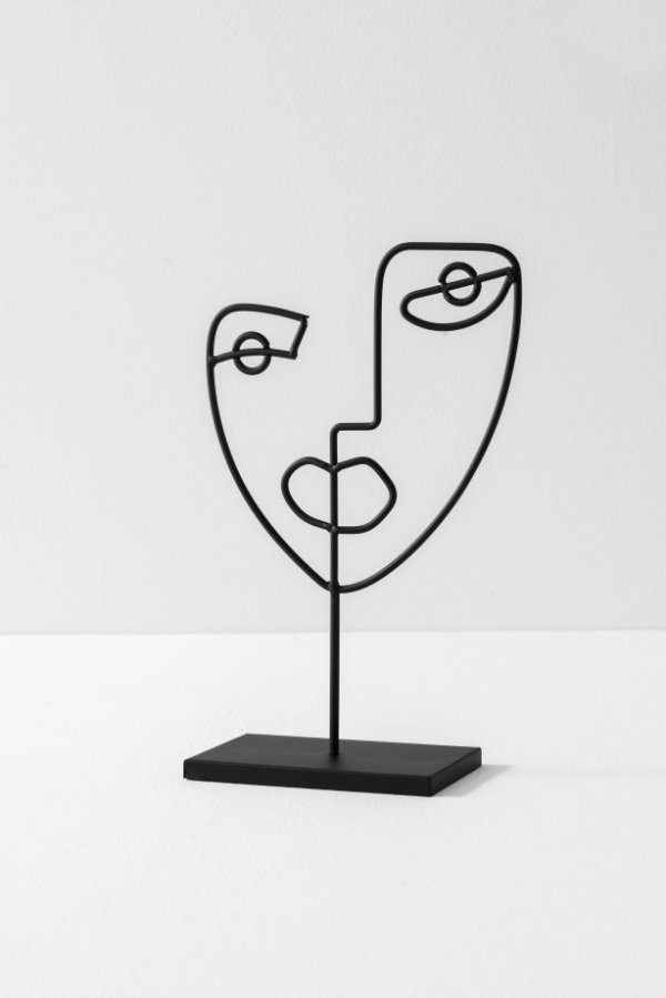 escultura modern face