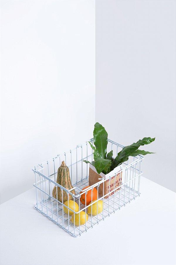 cesta supermercado branca