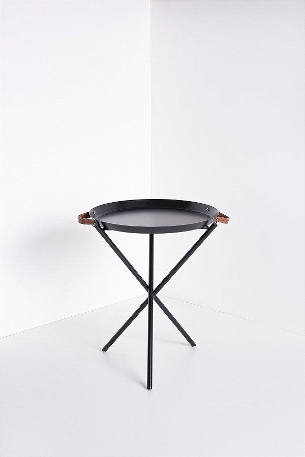 mesa de apoio slim preta