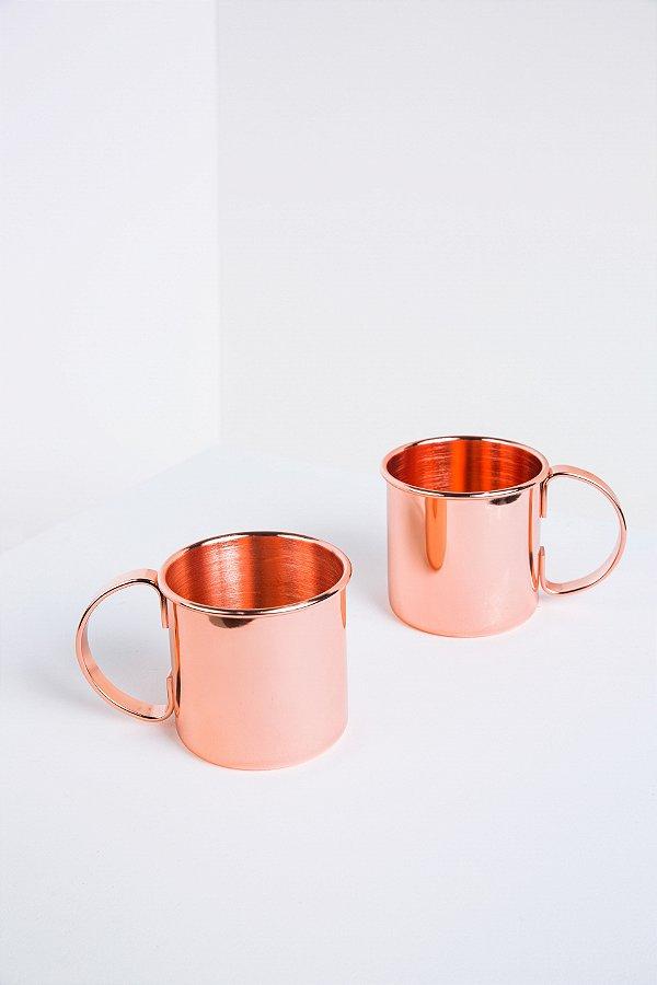 conjunto de canecas cobre