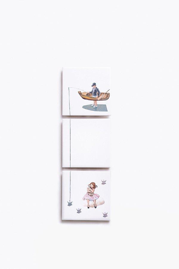 cj. azulejos pescador de sonhos