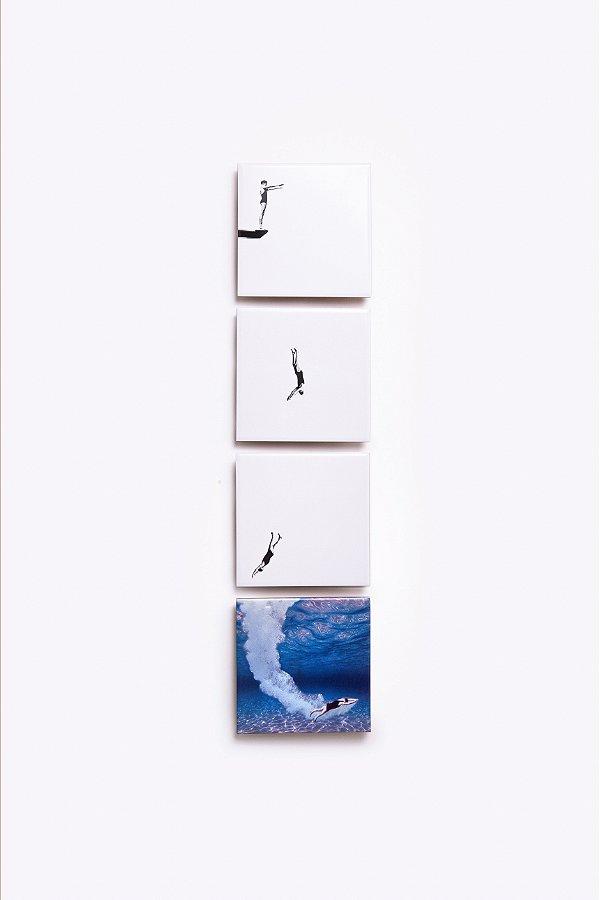 cj. azulejos mergulho