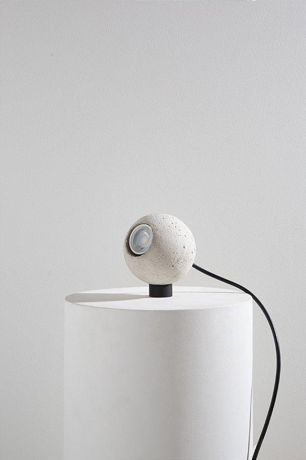 luminária esferinha branca