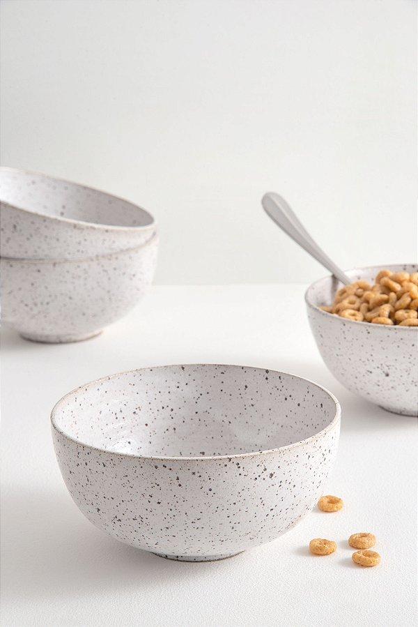 bowl de cerâmica olíe