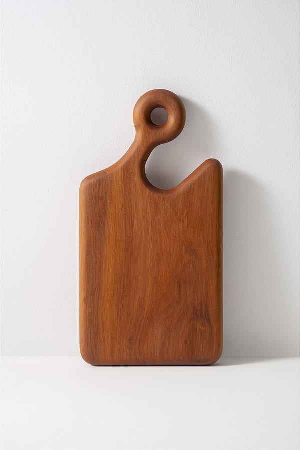tábua de madeira peroba pega
