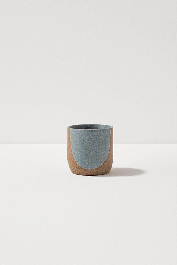 copo de café de cerâmica blu