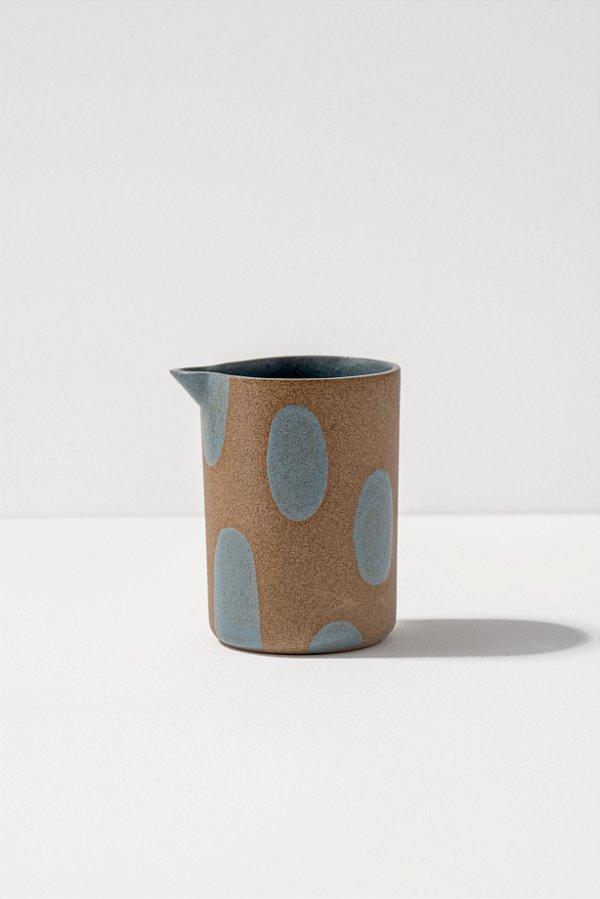 leiteira de cerâmica blu pintadinha