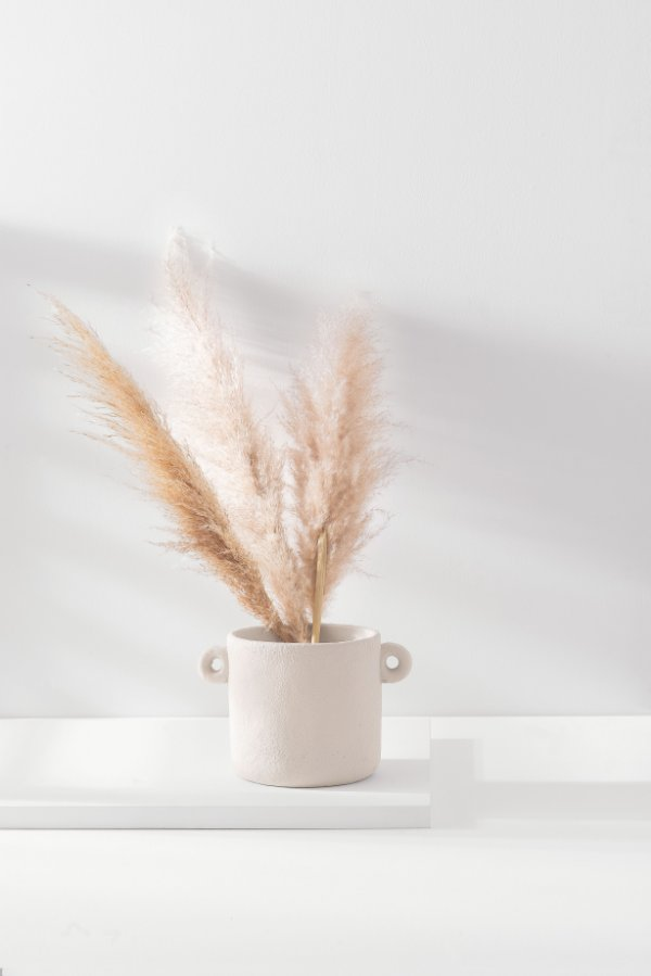 cachepot nature off white M