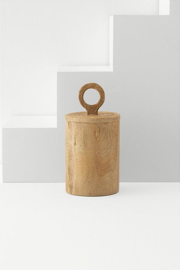 pote decorativo wood G