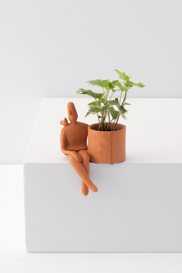 cachepot little man passarinho