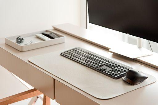 Desk Pad Off White
