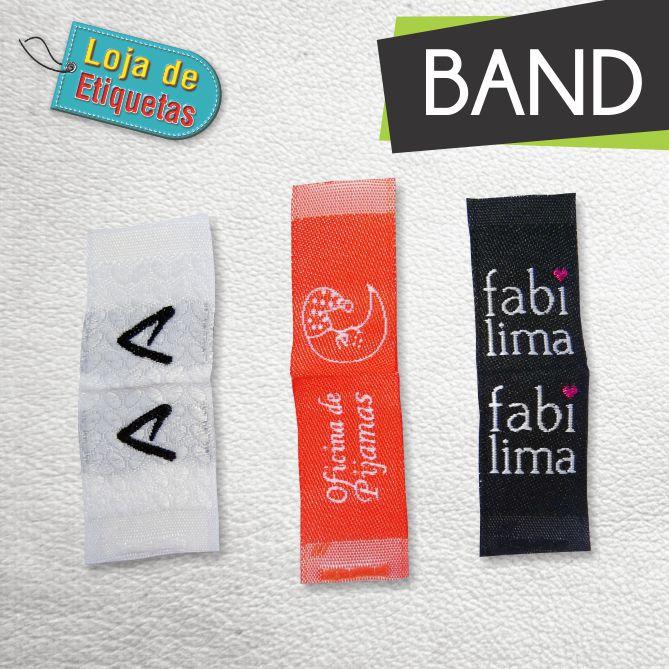 Etiqueta bordada Bandeirinha (Lateral) - Alta Definição (500 peças)