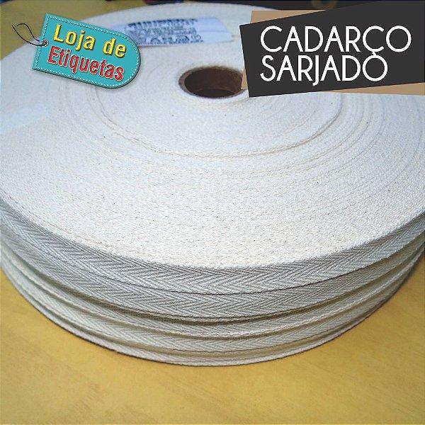 CADARÇO SARJADO - ALGODÃO CRÚ