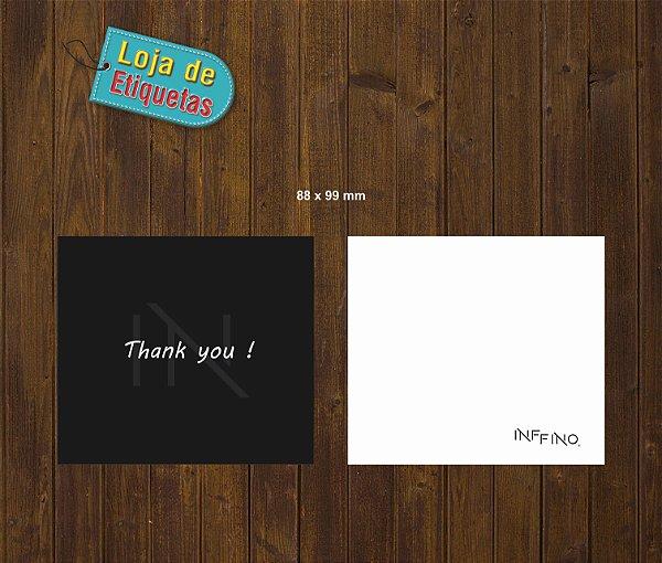 INFFINO - Cartão Duplo e Tag's