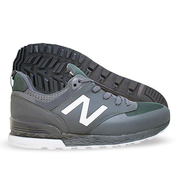 f94f12ef2 Tênis New Balance 574 Sport Cinza e Verde - malaca shoes calçados
