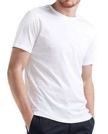 kit 10 Camisetas branca 100% poliéster