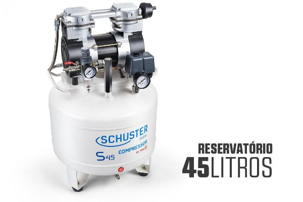 COMPRESSOR SCHUSTER S45 LITROS A SECO