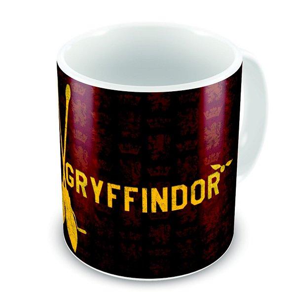 Caneca de cerâmica - GRYFFINDOR - Harry Potter - 325 mL