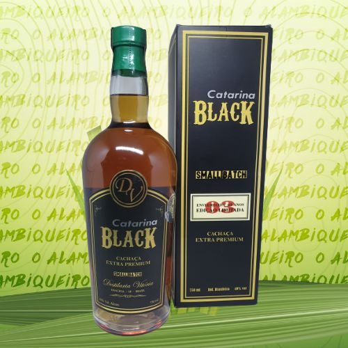 Cachaça Catarina Black 750ml