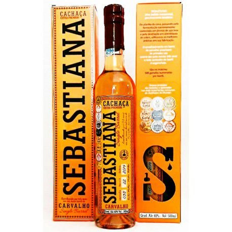Cachaça Sebastiana Carvalho Single Barrel 500ml