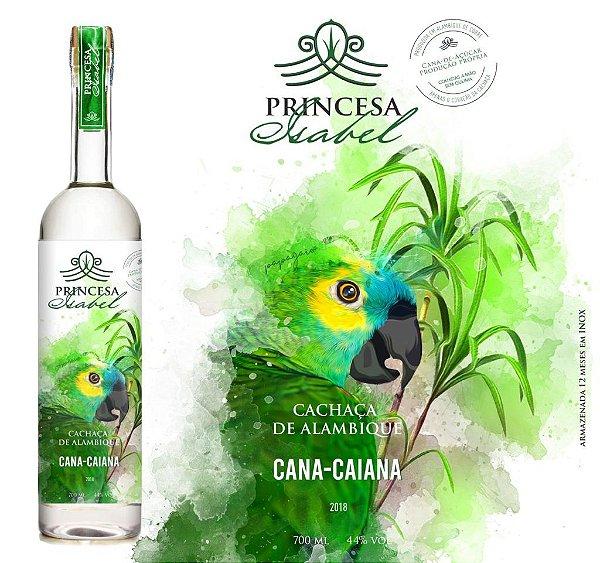 Cachaça Princesa Isabel Cana Caiana 700ml