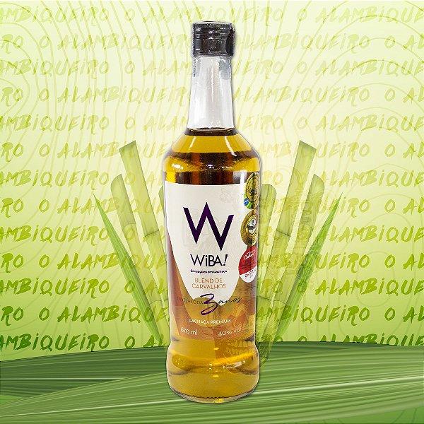 Cachaça Wiba! Blend de Carvalhos Premium 670ml
