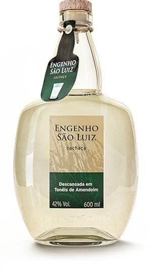 Cachaça Engenho São Luiz Prata 600ml