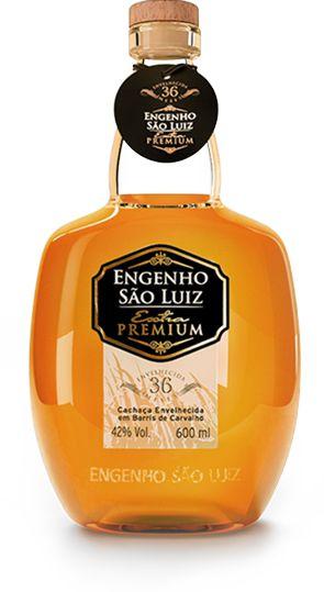 Cachaça Engenho São Luiz Extra Premium Carvalho 600ml