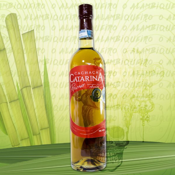 Cachaça Catarina Cabreúva 750ml