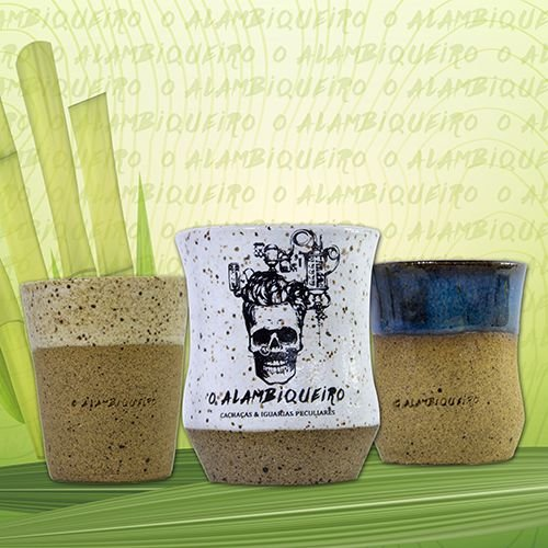 Kit Copinhos de Cerâmica 60ml by Paula Souza Ateliê de Cerâmica