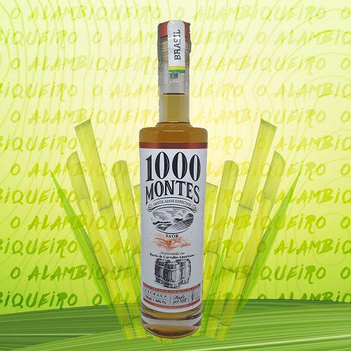 Cachaça 1000 Montes Carvalho 3 AOB 700ml