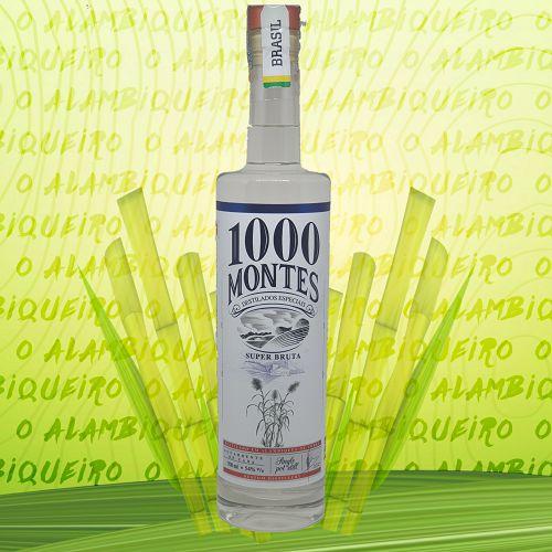 Aguardente 1000 Montes Super Bruta 700ml