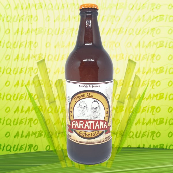 Cerveja Paratiana Gabriela 600ml