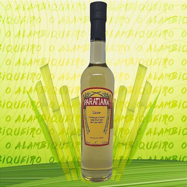 Licor Creme de Cachaça Paratiana 500ml