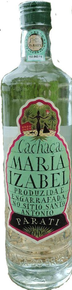 Cachaça Maria Izabel Inox 700ml