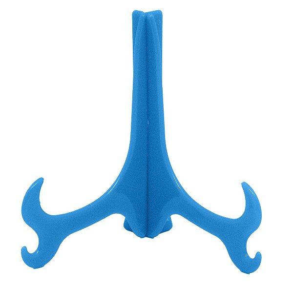 Suporte Médio Azul para Prato Azulejo 11,5x9cm (o Par)