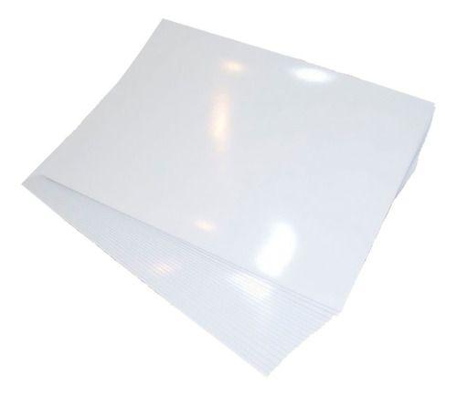 Vinil Adesivo Branco Para Sublimação Tamanho A3 (288) - 10 Folhas