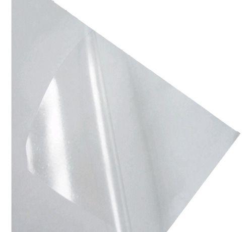 Vinil Adesivo Transparente Para Sublimação Tamanho A3 (1319) Para Tinta Sublimática - 10 Folhas
