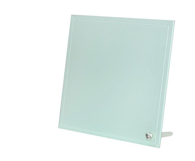 Porta Retrato de Vidro Linha Luxo Formato Quadrado 20 X 20 CM Para Sublimação - 01 Unidade (2125)