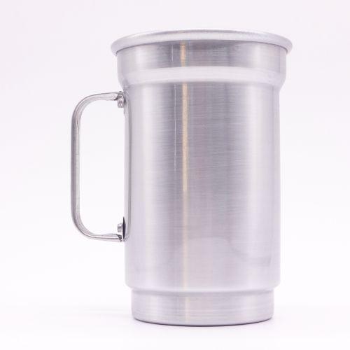 Caneca de Alumínio para Sublimação Brilhante 750ml - 12 Unidades (Caixa Fechada) (AL4014)