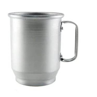 Caneca de Alumínio para Sublimação Fosca 500ml - 12 Unidades (Caixa Fechada) (UD3350)