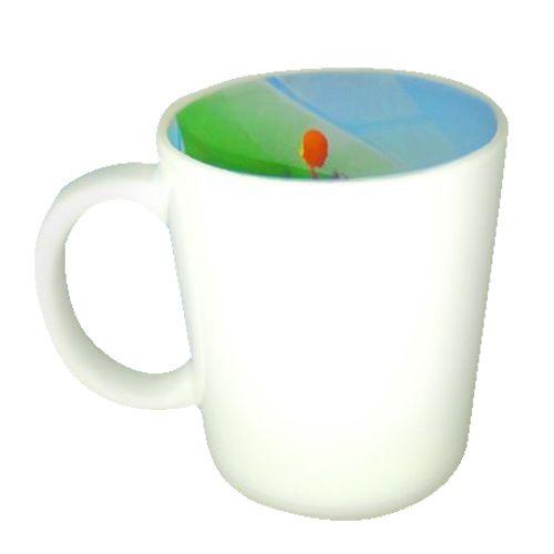 Caneca Cerâmica 325 ml Branca Motto Mug Resinada P/ Sublimação - Futebol ShopVirtua3000® (1936) - 01 Unidade