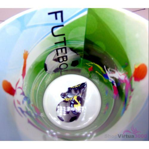 Caneca Cerâmica 325 ml Branca Motto Mug Resinada P/ Sublimação - Futebol ShopVirtua3000® (1936) - 36 Unidades (Caixa Fechada)