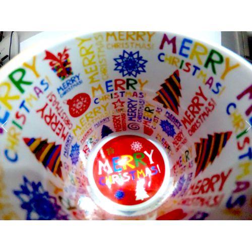 Caneca Cerâmica Branca Motto Mug Resinada P/ Sublimação - Feliz Natal 325 ml ShopVirtua3000® (578) - 36 Unidades (Caixa Fechada)