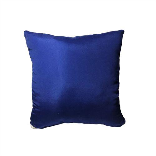 Capa para Almofada Azul 30x30cm em Microfibra para Sublimação - 01 Unidade