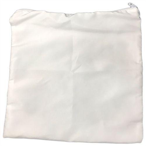 Capa para Almofada Branca 30x30cm em Microfibra para Sublimação - 01 Unidade