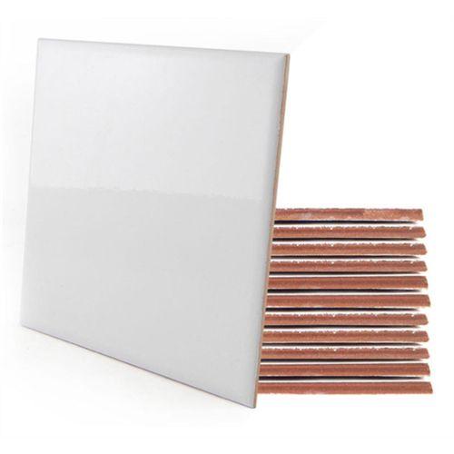 Azulejo para Sublimação Ultra Brilho 10x10 Cm - Embalagem à Vácuo Com 01 Unidades (AL2001)