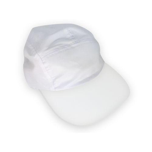 Boné Ciclista Cabeça e Aba Branca para Sublimação em Microfibra Adulto (111)