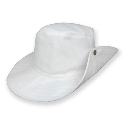 Chapéu Australiano Cabeça e Aba Branca para Sublimação em Microfibra Adulto (209) - 01 Unidade