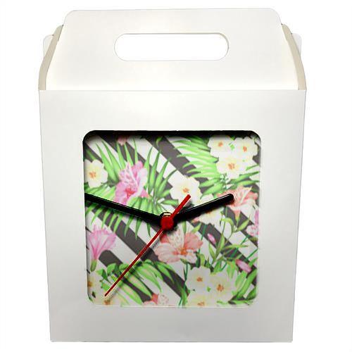 Caixinha Branca Para Azulejo ou Relógio 20x20 cm (PH041) - 01 Unidade